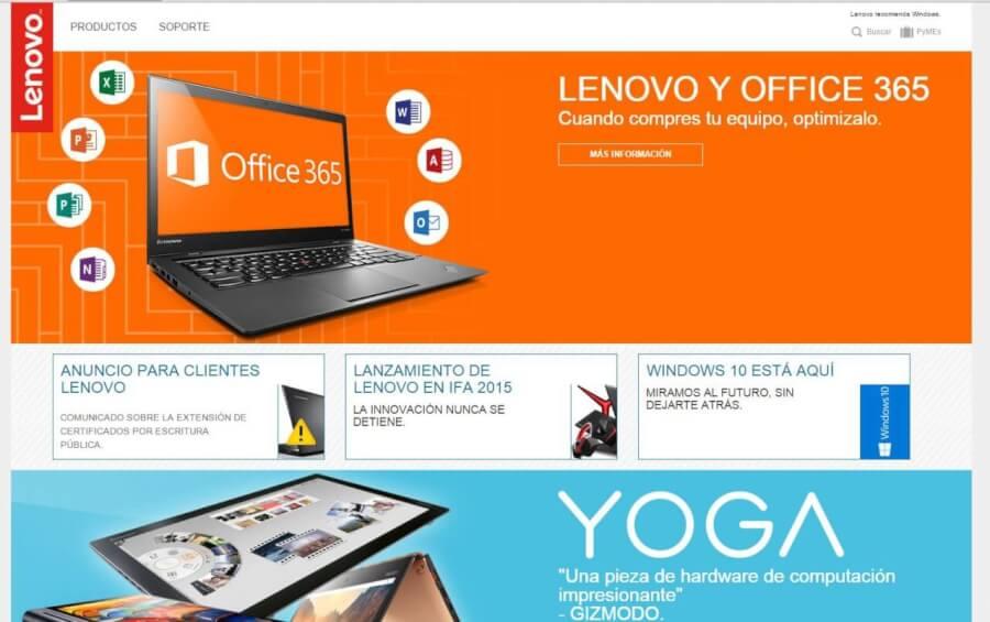 Pagina_Principal_Lenovo