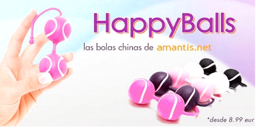 Bolas chinas con cupones promocionales Amantis