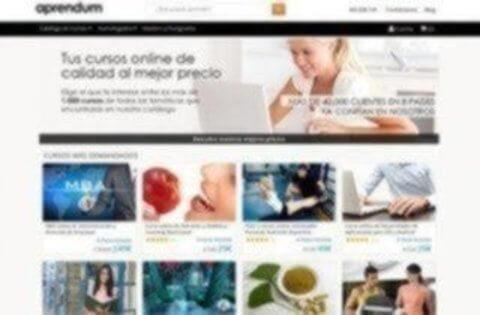 Sitio Web de Aprendum - Ofertas en Cursos y Másteres
