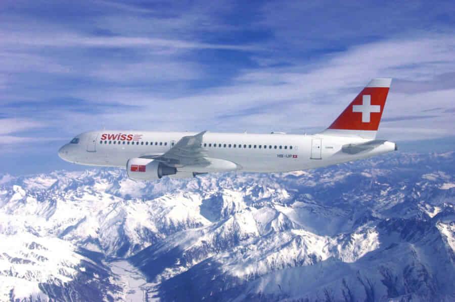 Avión de Swiss - Reserva los vuelos lowcost online
