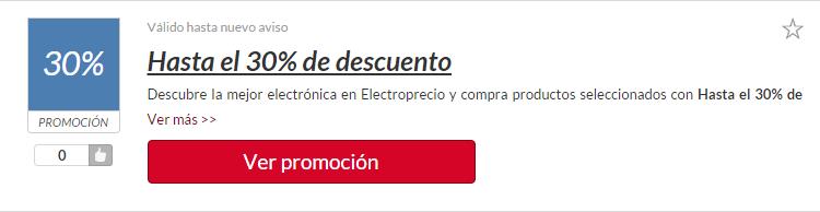 código descuento electroprecio