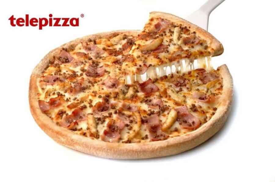 pizzas a domicilio utilizando los codigos descuento telepizza