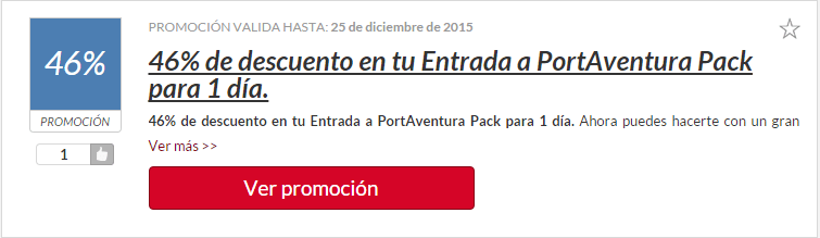 código descuento port aventura