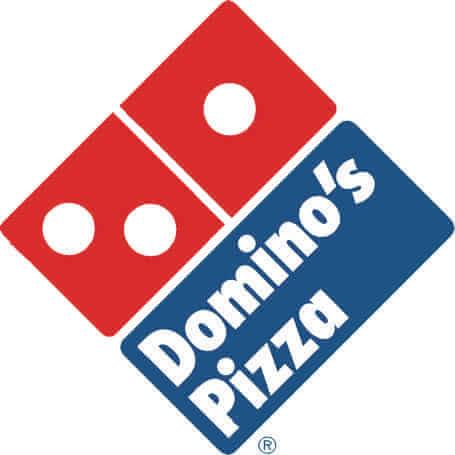Mira el logo Domino's Pizza