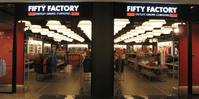 Compra las grandes marcas con codigos promocionales Fifty Factory