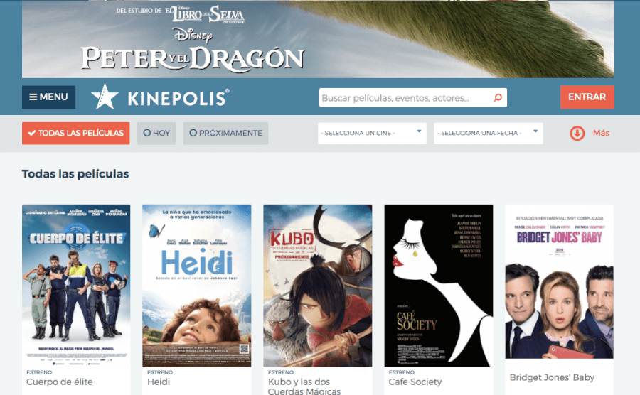 homepage kinepolis