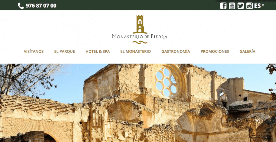 Home Monasterio de piedra