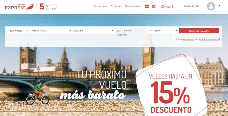 oferta de la tienda online ibera express