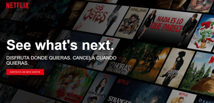 oferta Netflix