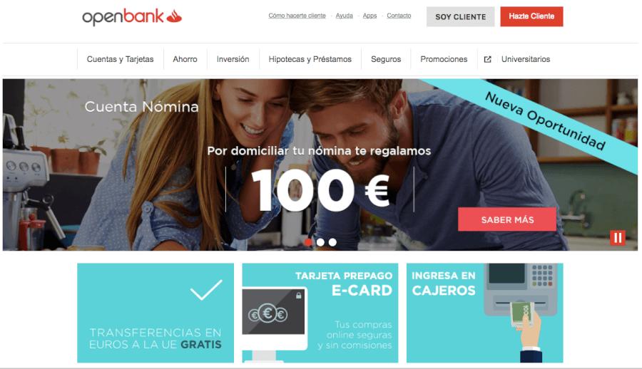promociones openbank