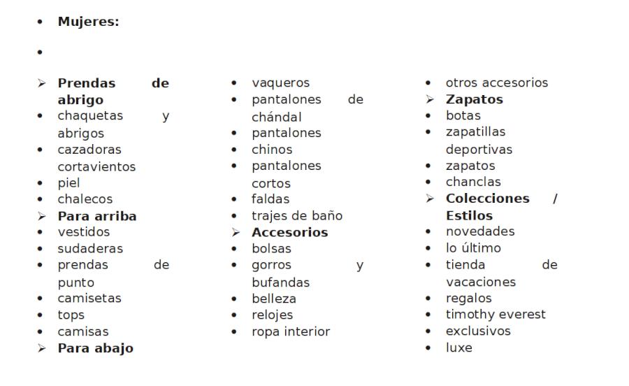 Superdry categorias de prendas