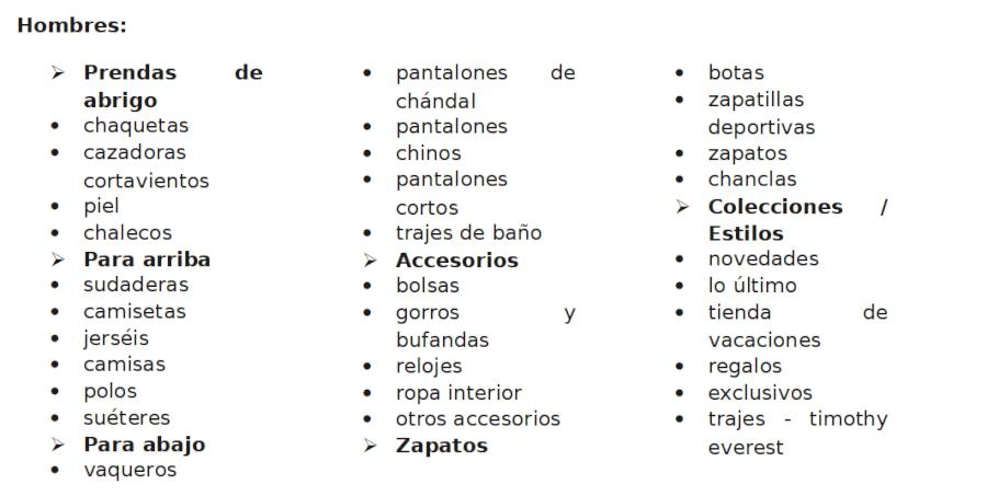 Superdry categorias hombres