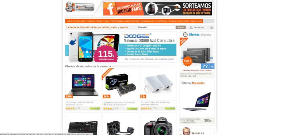 Las mejores ofertas PCComponentes en su Sitio Web